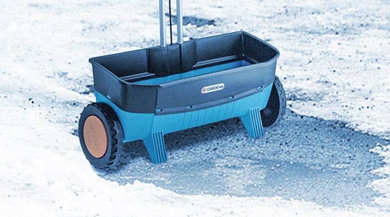 Streuwagen für den Winter