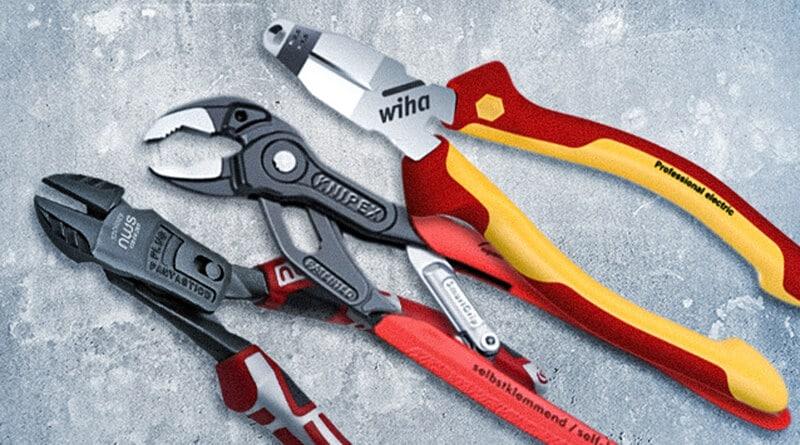 Innovative Zangen von Wiha, Knipex und mehr