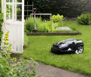 Automower im Garten