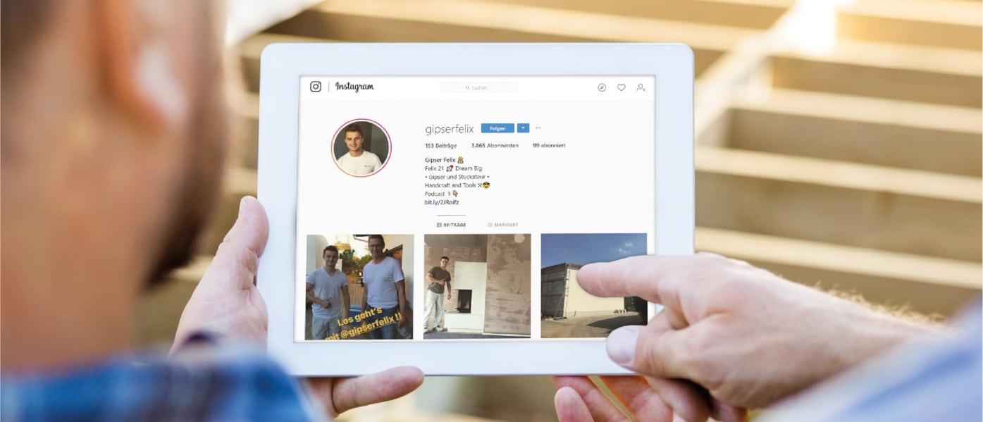 Instagram-Tipps von Felix Schröder