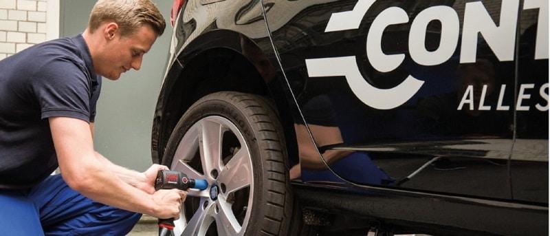 Druckluftschrauber Reifenwechsel