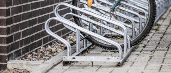 Fahrrad-Stellplatz-Banner