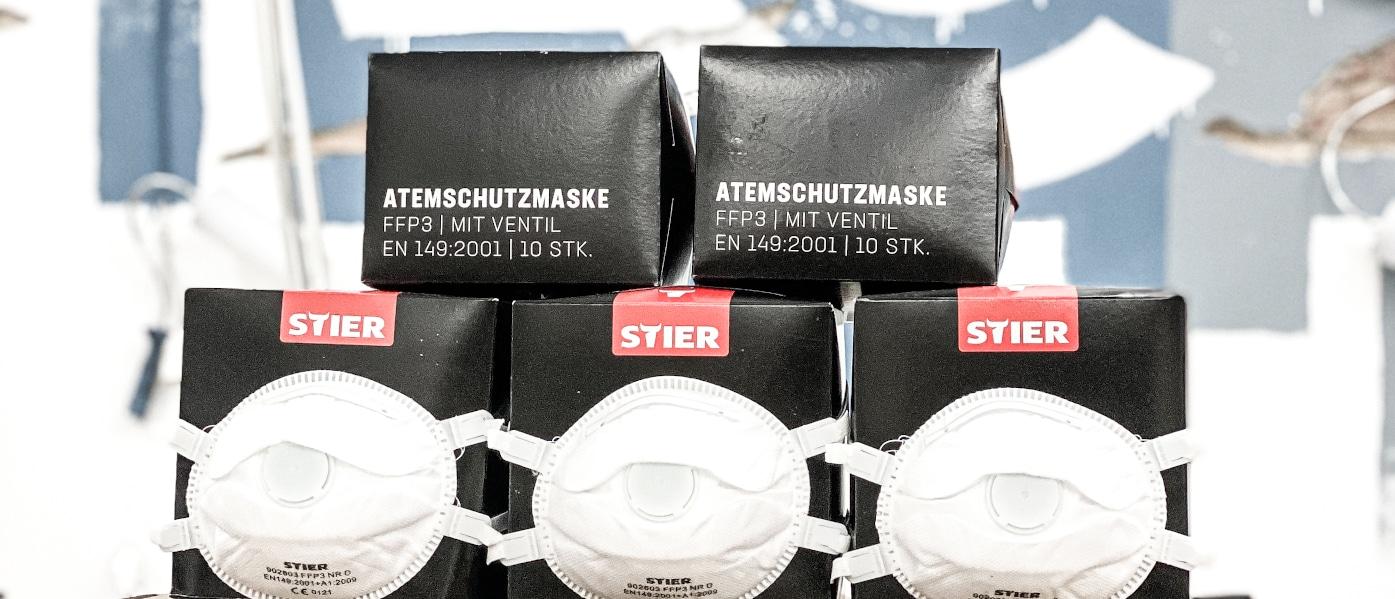 8.000 Schutzmasken für Berlin
