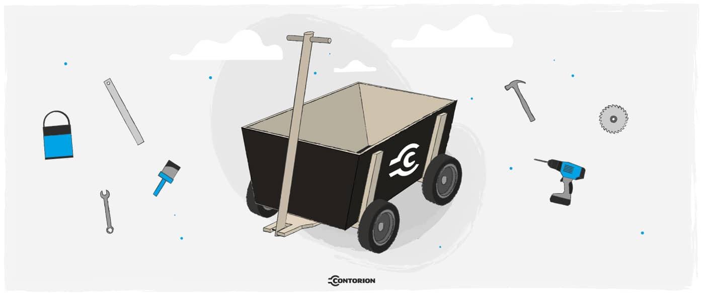 Bollerwagen selbst bauen: eine Anleitung