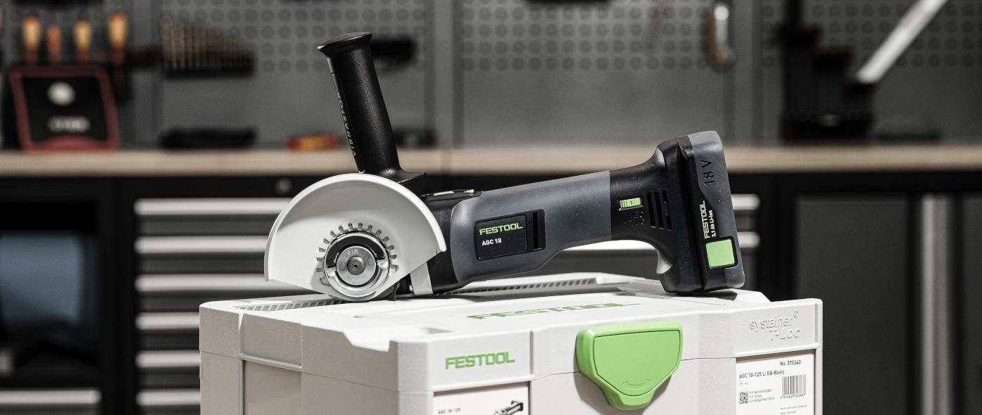 Im Test: Festool Winkelschleifer AGC 18-125 Li