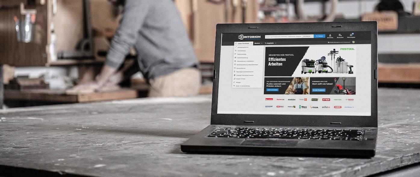 In der Krise kauft das Handwerk online