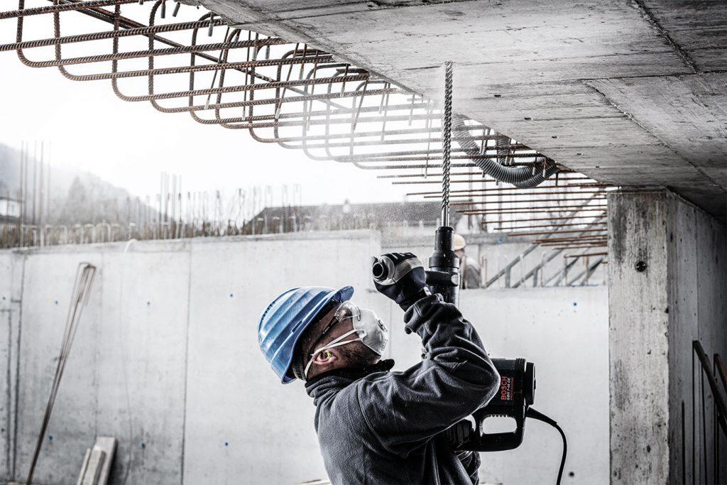 Armierten Beton erfolgreich bohren-anwendung-II