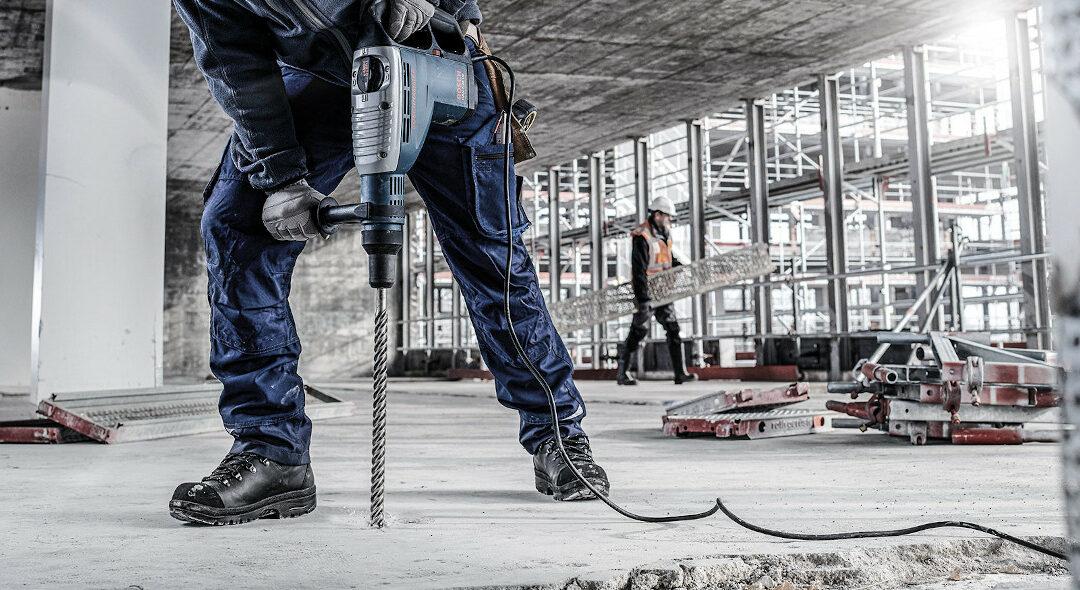 Bosch: Armierten Beton erfolgreich bohren