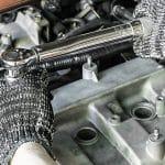Drehmomentschlüssel am Auto
