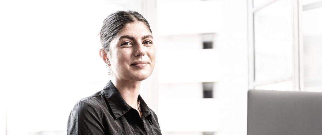 Lucy Lauer, Auszubildende zur E-Commerce Kauffrau